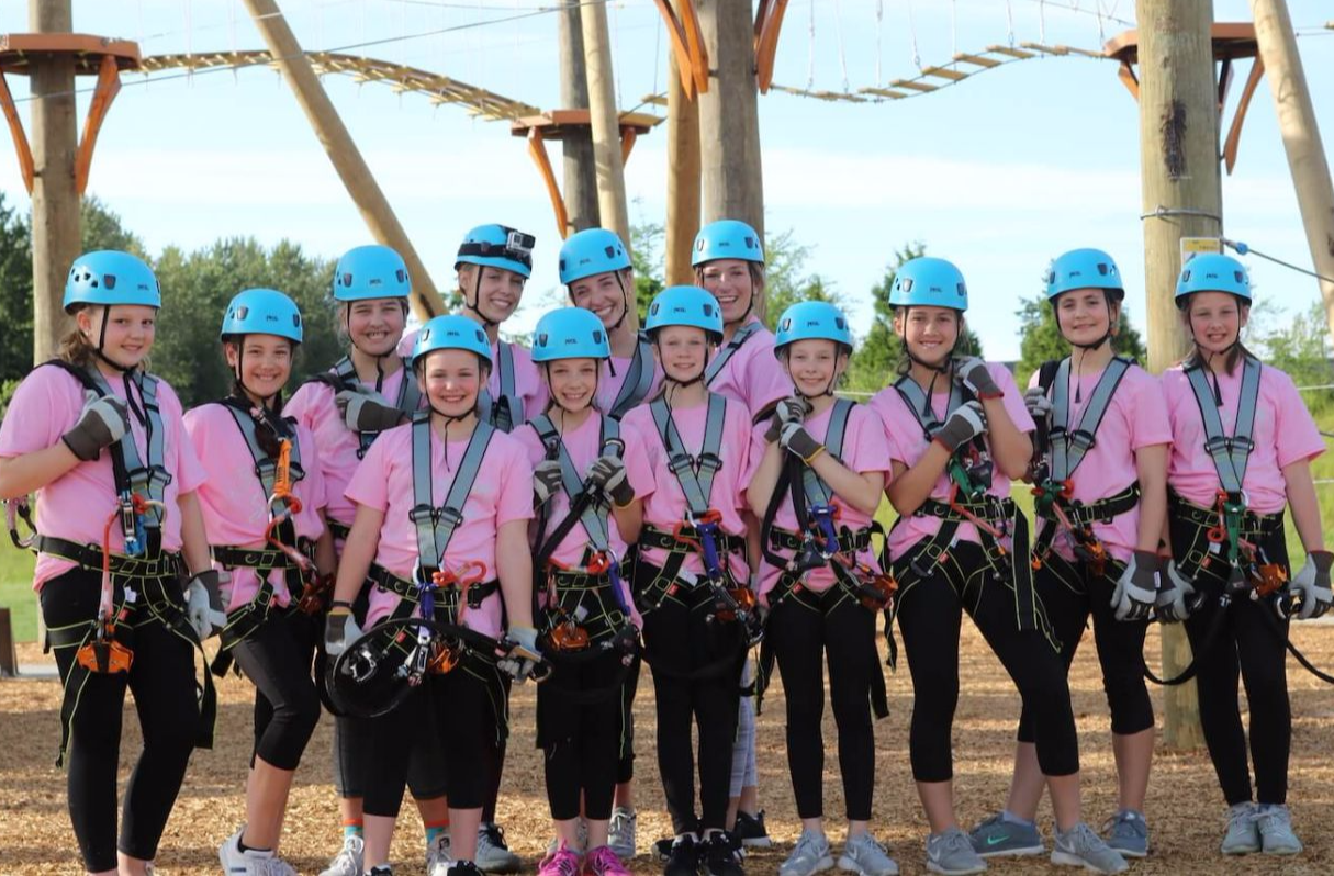 High Trek Adventures Ropes Course Amp Zipline For Ages 4 104