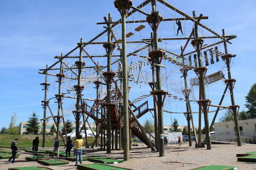 Laser Tag, Mini-Golf and Ropes course